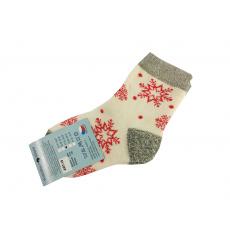 Ponožky Zimní Vločky
