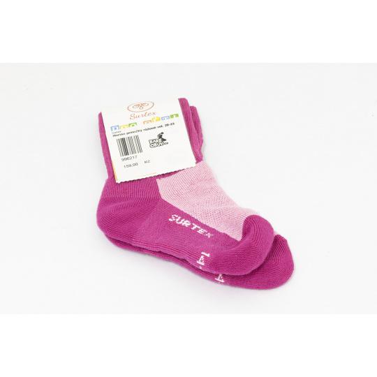Surtex merino ponožky růžové