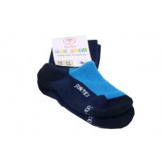Surtex merino ponožky tm. modré 3