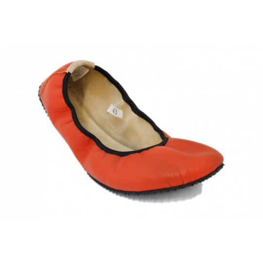 Pathik Shoes Amelíny Oranžové