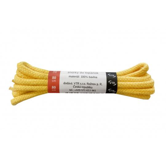 Tkaničky kulaté žluté