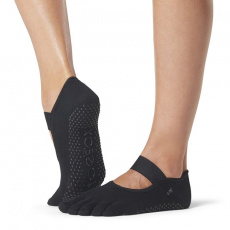 ToeSox Mia Black Full Toe Grip