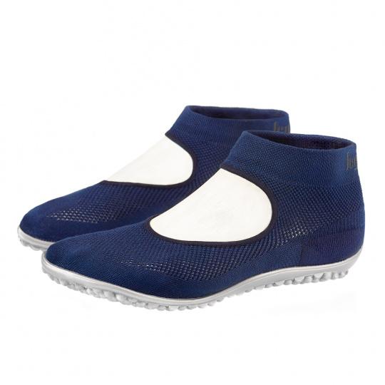 leguano ballerina modré XXXS (32/33)