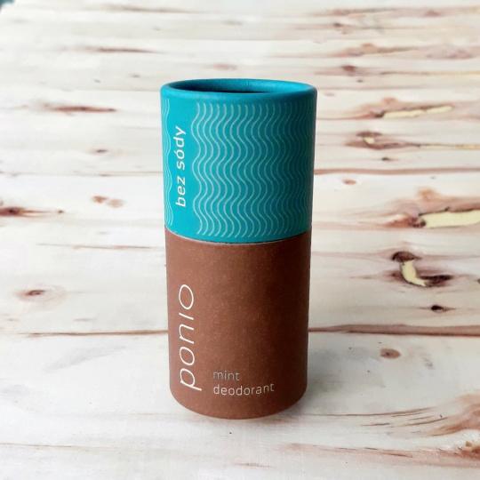 Ponio přírodní sodafree deodorant Mint