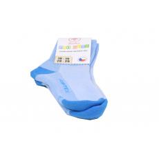 Surtex merino ponožky sv. modré