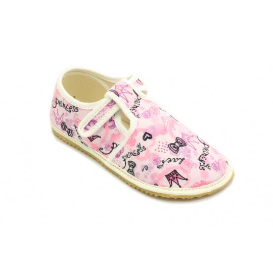 Jonap papuče Růžové princezna