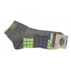 Knebl ponožky sportovní antibakterial šedé