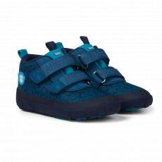 Affenzahn Low Boot Knit Bear Blue