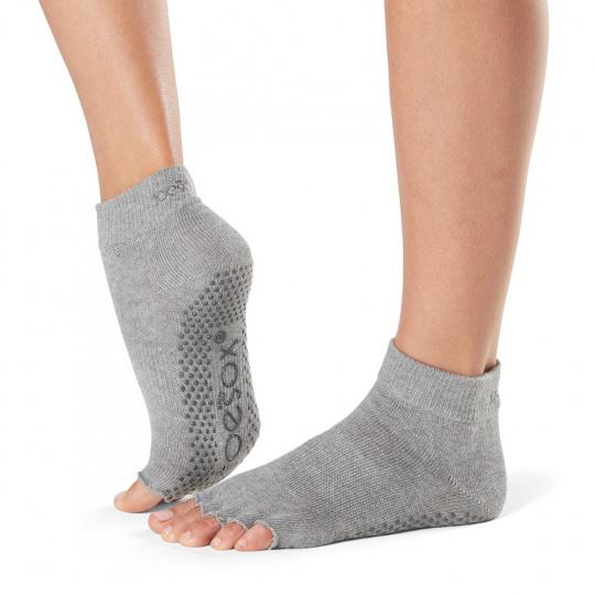 ToeSox Half Toe Grip Grey