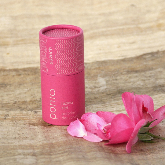 Ponio přírodní deodorant Růžová alej