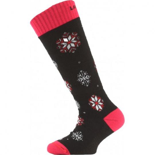 Lasting dětské merino ponožky SJA903 růžové