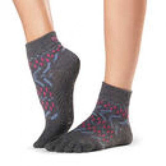 Toesox Ankle Festival Full Toe Grip