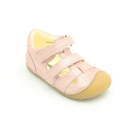 Bundgaard Peti Sandal Pink Grille