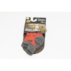 Lasting Merino ponožky červené
