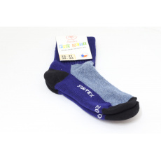Surtex merino ponožky šedo modré