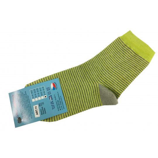 Ponožky bavlné zelené