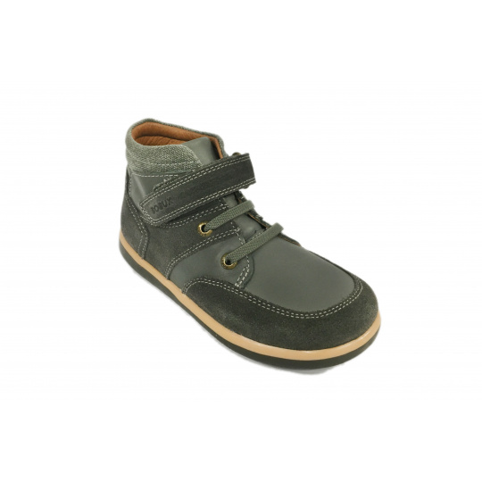 Bobux Stomp Boot Charcoal Grey