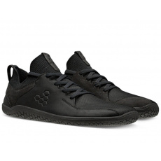 VivoBarefoot Primus Knit Lux M leather black