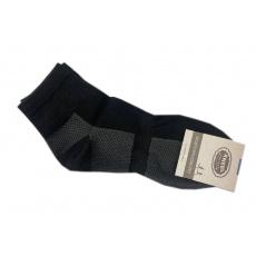Knebl ponožky černé nízké