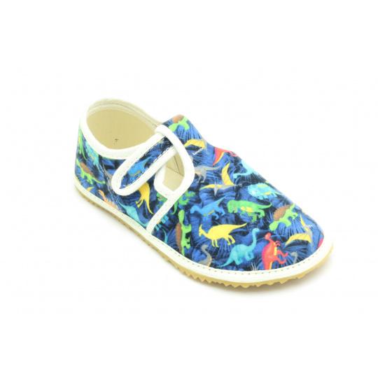 Jonap papuče Modré dinosauři