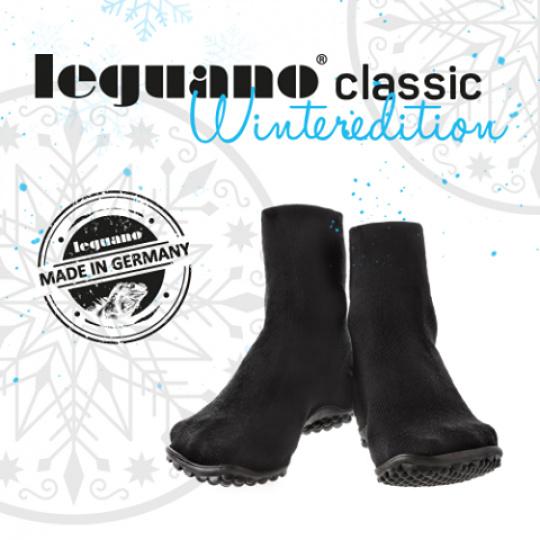 leguano classic černé zimní Velikost: S 38/39 - délka stélky 23,5 cm, šířka 9,3 cm