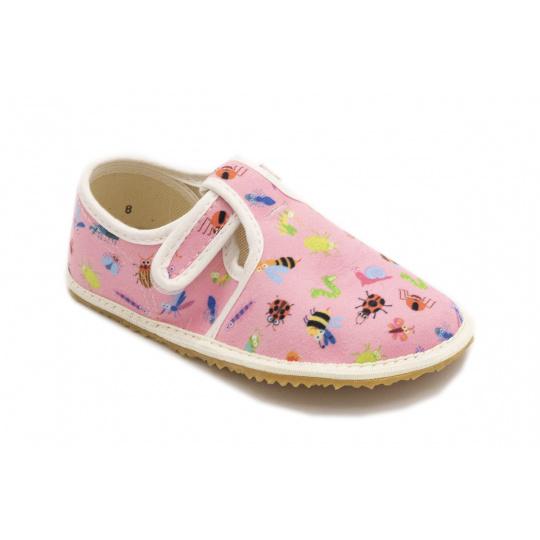 Jonap papuče Růžové brouci
