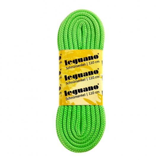 tkaničky neonově zelené, 110 cm