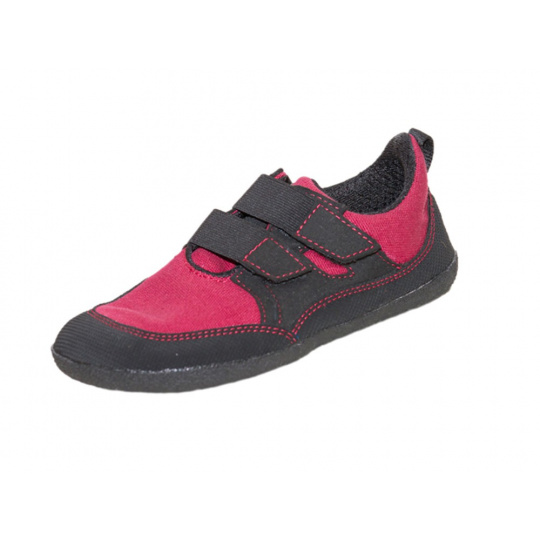 Sole Runner Puck Red Black