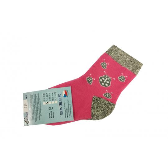 Ponožky Zimní berušky