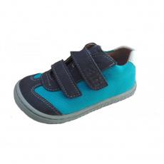 Filii Sneaker Leguan velcro textile turquois W