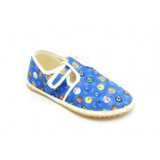 Jonap papuče Modré smajlíci