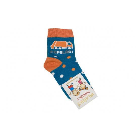 Ponožky modré popeláři