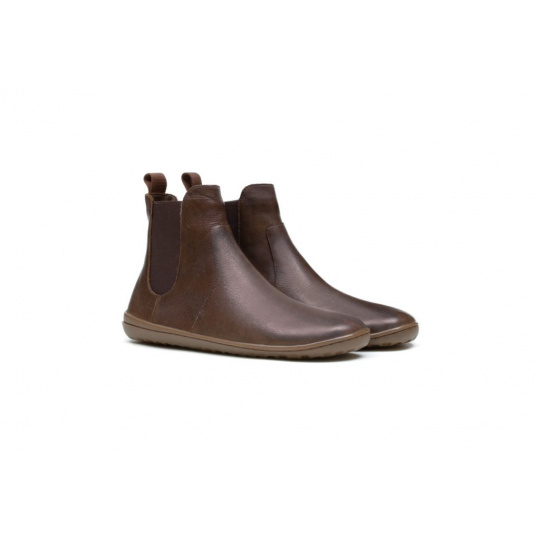 VivoBarefoot Fulham L Leather BROWN