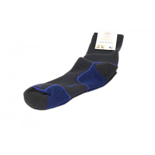 Surtex merino ponožky černé