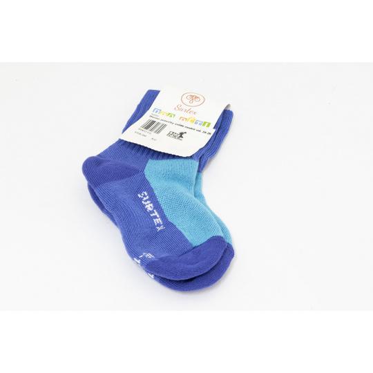 Surtex merino ponožky modré