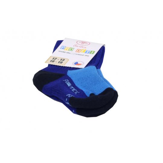 Surtex merino ponožky tm. modré 4