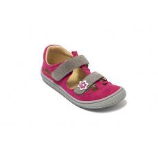 Filii KAIMAN Velcro Velours pink/grey M