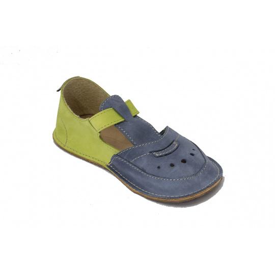 OKbare Karol P modro zelené 008/50