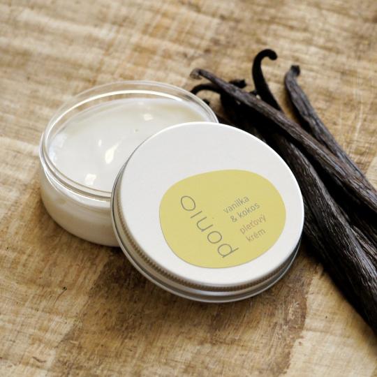 Ponio pleťový krém vanilka/kokos