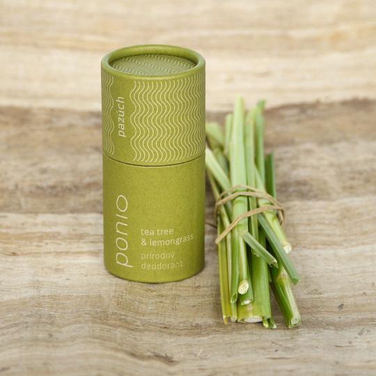 Ponio přírodní deodorant Tea tree/lemongrass