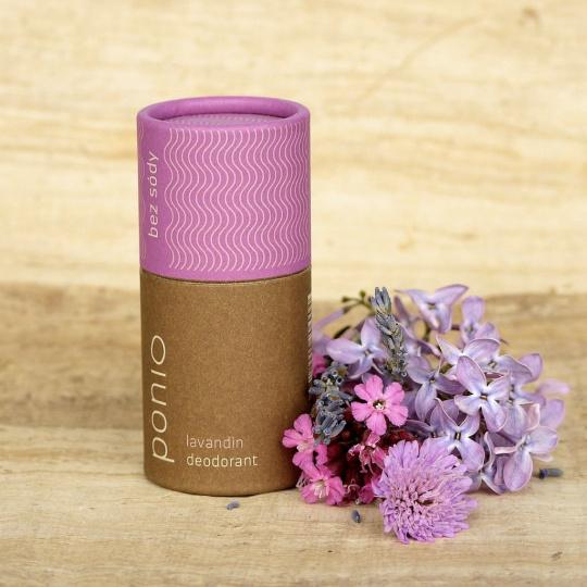 Ponio přírodní sodafree deodorant levandule