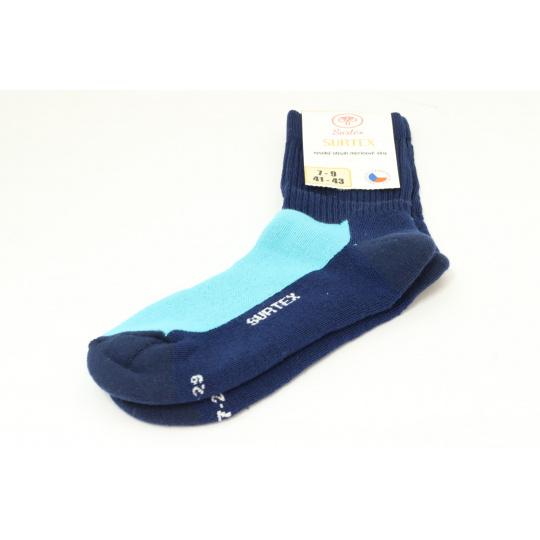Surtex merino ponožky tm. modré 2