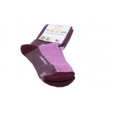 Surtex merino ponožky vínové