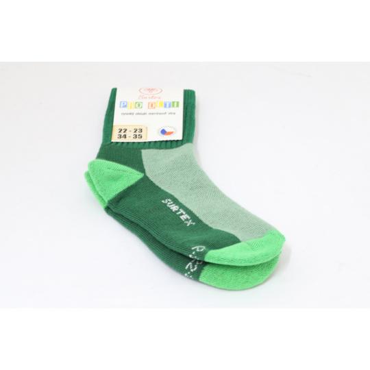 Surtex merino ponožky zelené