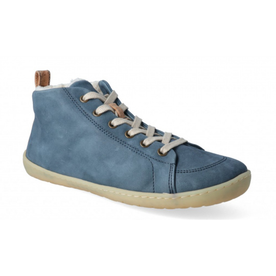 Mukishoes High-cut Raw Blue