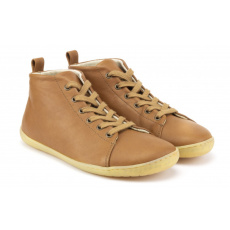 Mukishoes High-cut RAW Leather Brown