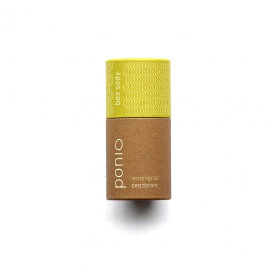 Ponio přírodní sodafree deodorant lemongras