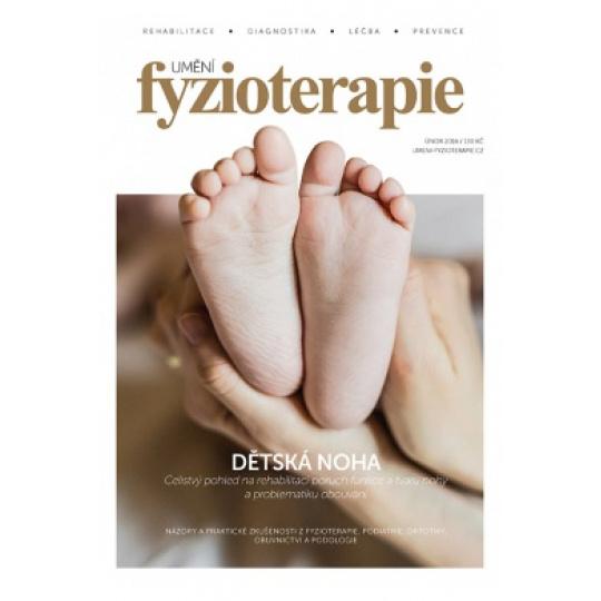 Umění fyzioterapie Dětská noha