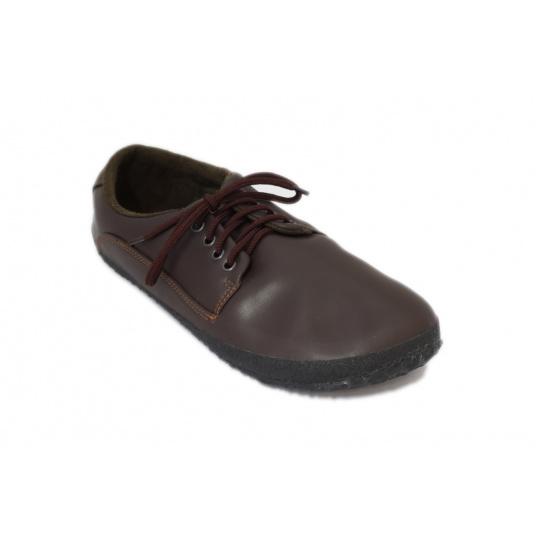 Ahinsa Shoes sundara hnědá
