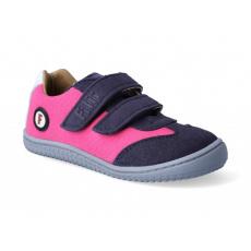 Filii Sneaker Leguan velcro textile pink W